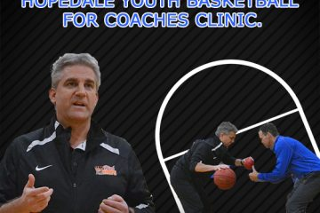 Coaches Clinic with Hopedale Youth Basketball