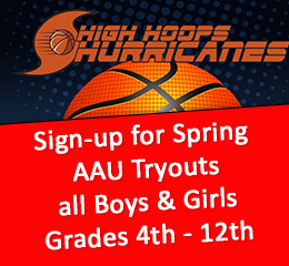 2018 Spring AAU Tryouts