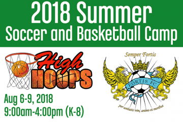 2018 Summer Soccer & Basketball Camp