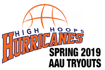 Hurricanes AAU spring tryouts