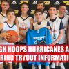 Hurricanes AAU tryouts Spring 2020