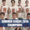 Summer League 2019 champs